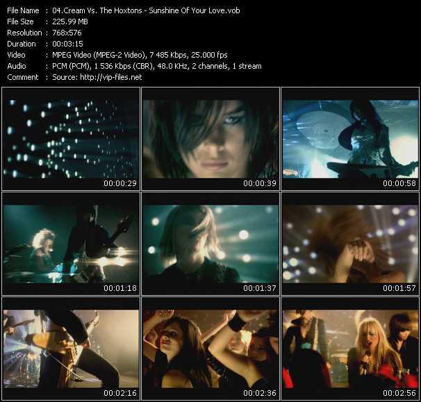 Cream Vs. The Hoxtons video screenshot