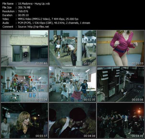 video Hung Up screen