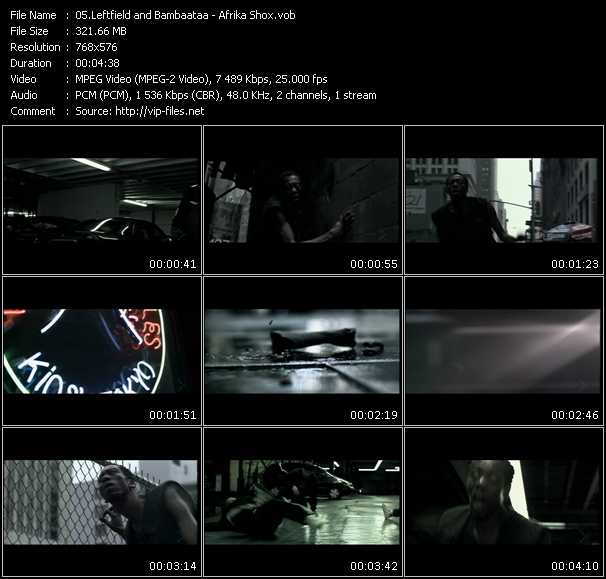 Leftfield Feat. Afrika Bambaataa video screenshot
