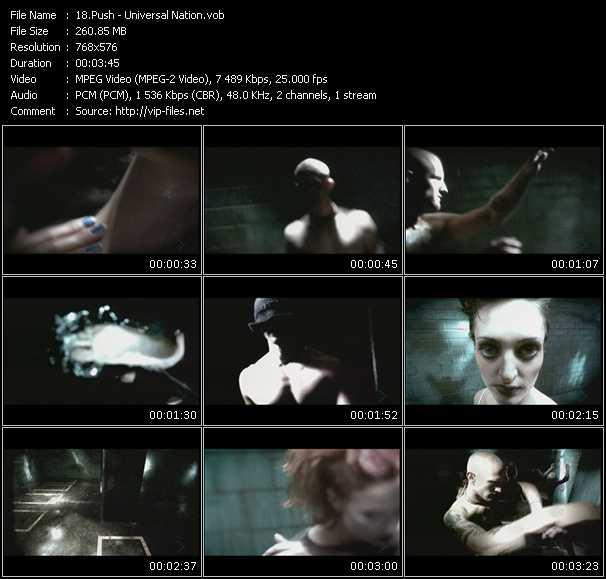 Push video screenshot