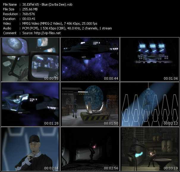 Eiffel 65 video screenshot
