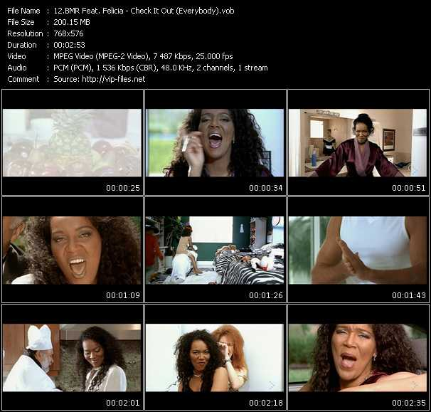Bmr Feat. Felicia video screenshot