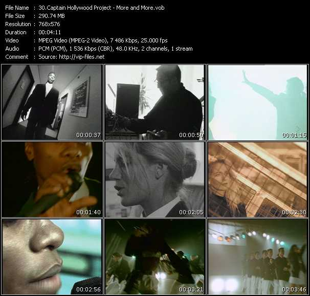 Captain Hollywood Project video screenshot