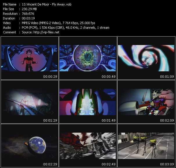 Vincent De Moor video screenshot
