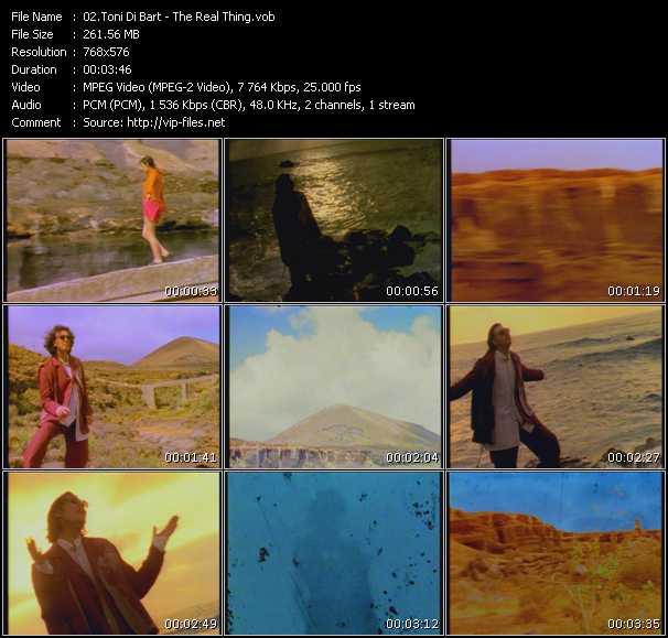 Toni Di Bart video screenshot