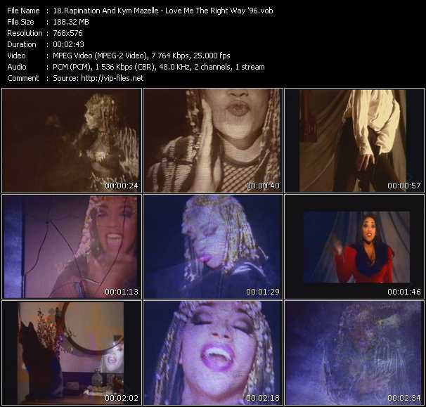 Rapination And Kym Mazelle video screenshot