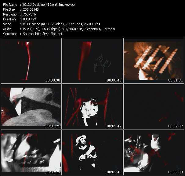 Dj Deekline video screenshot