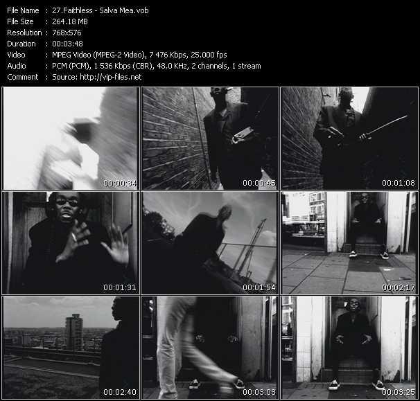 Faithless video screenshot