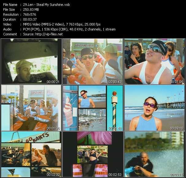 Len video screenshot