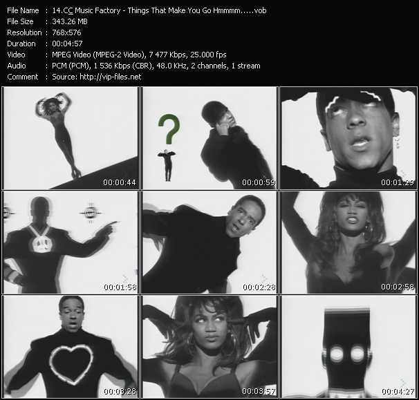 C And C Music Factory video screenshot