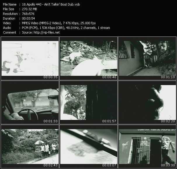 Apollo 440 (Apollo Four Forty) video screenshot