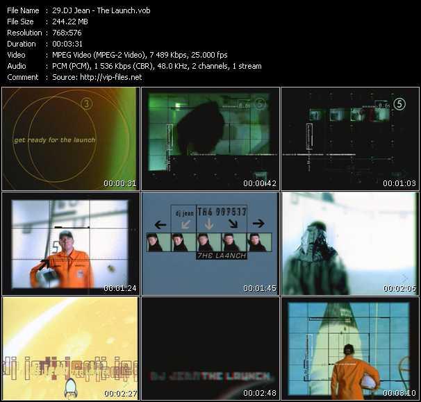 Dj Jean video screenshot