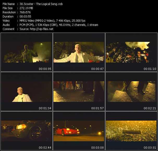 Scooter video screenshot