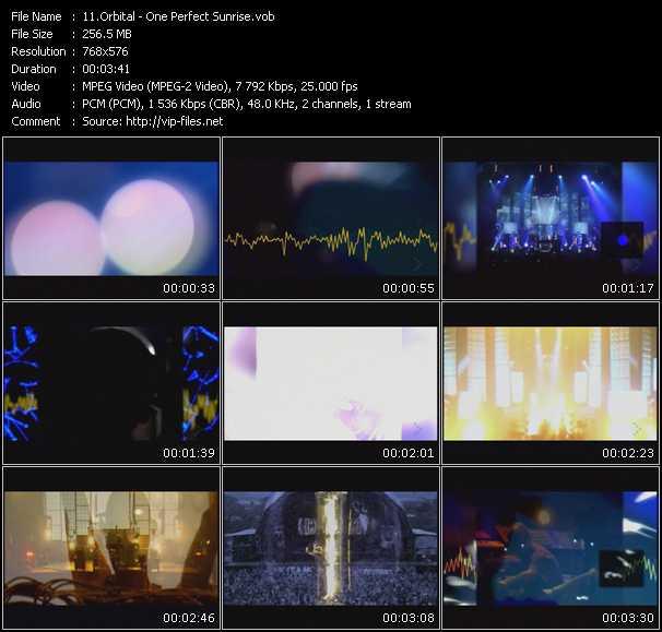 Orbital video screenshot