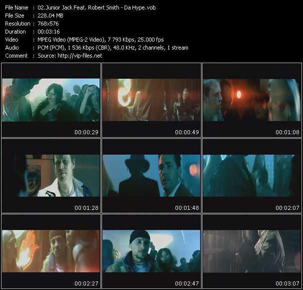 Junior Jack Feat. Robert Smith video screenshot