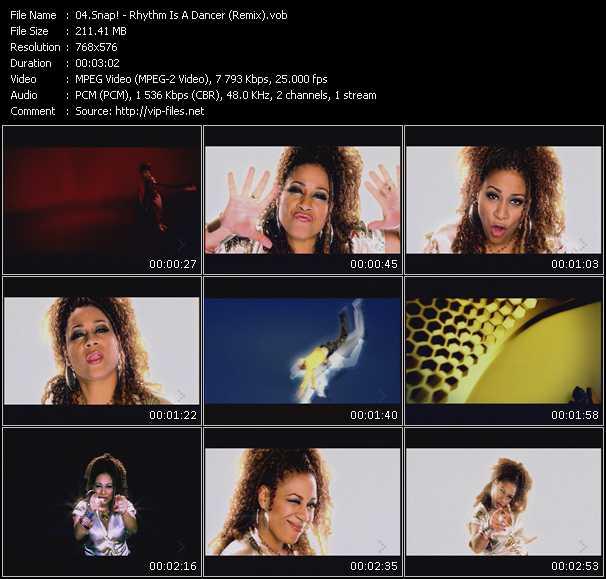 video Rhythm Is A Dancer (Remix) screen