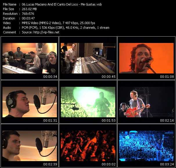 Lucas Maciano And El Canto Del Loco video screenshot