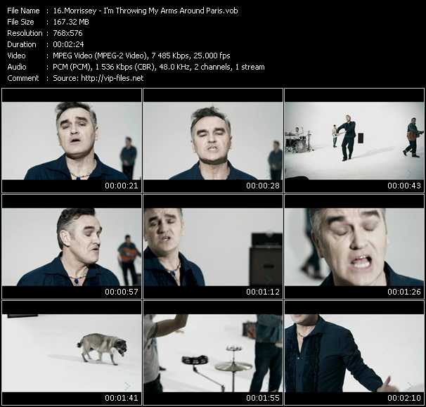Morrissey video screenshot