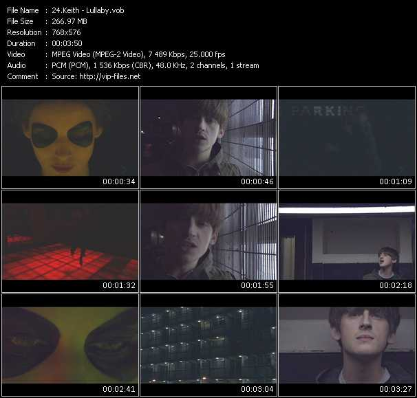 Keith video screenshot