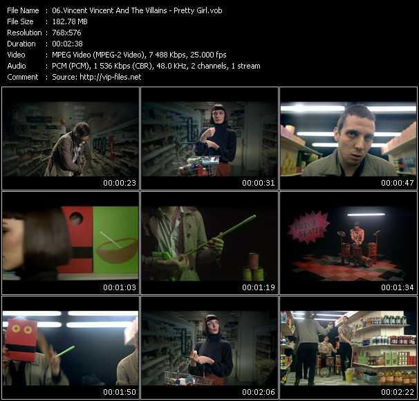 Vincent Vincent And The Villains video screenshot