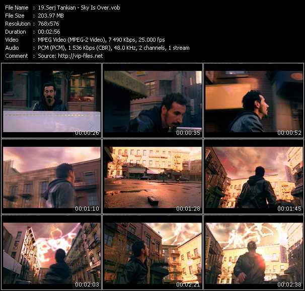 Serj Tankian video screenshot