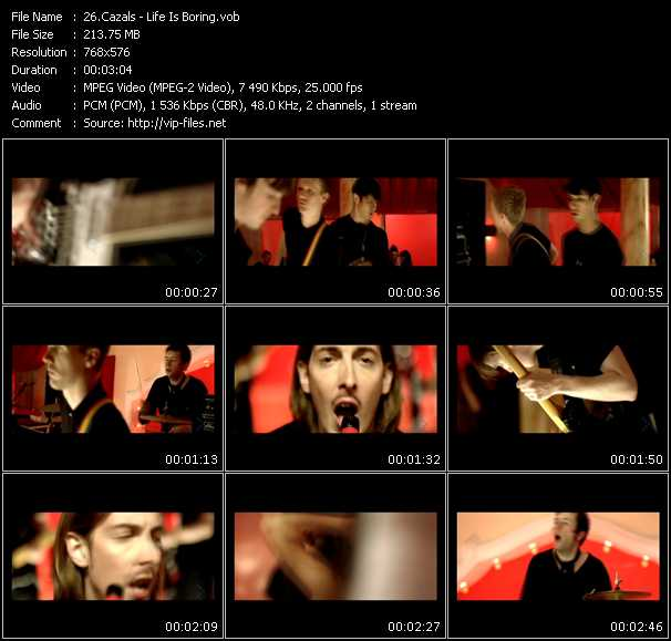 Cazals video screenshot