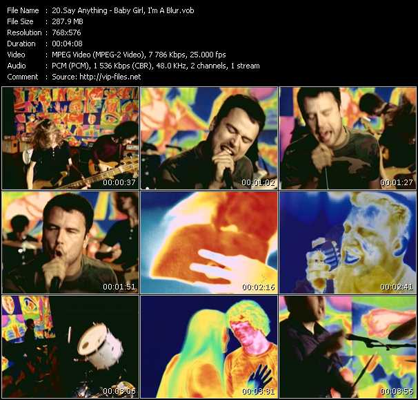 Say Anything video screenshot