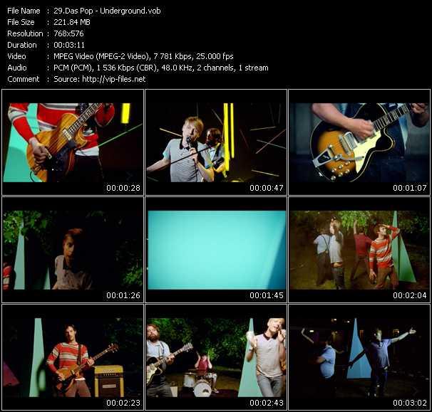 Das Pop video screenshot