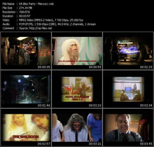 Bloc Party video screenshot