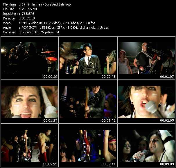 Kill Hannah video screenshot