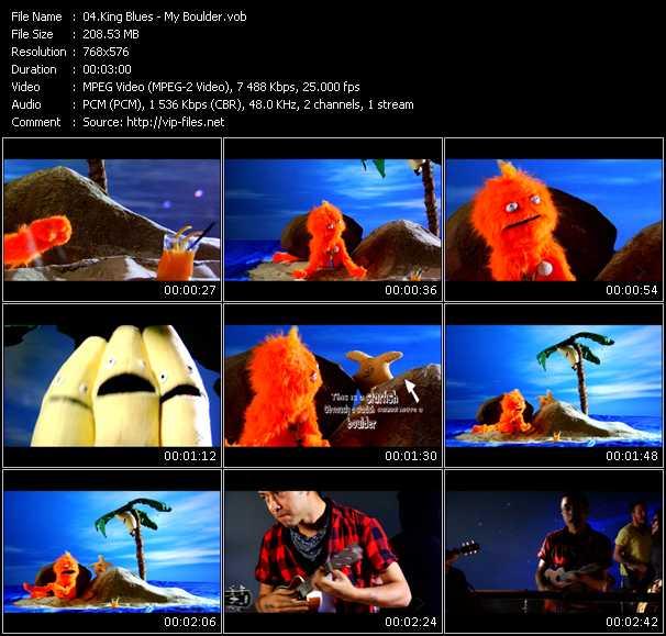 King Blues video screenshot