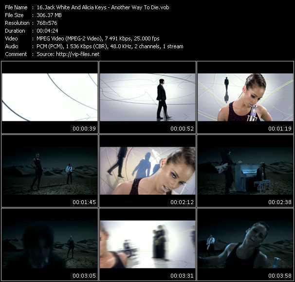 Jack White And Alicia Keys video screenshot