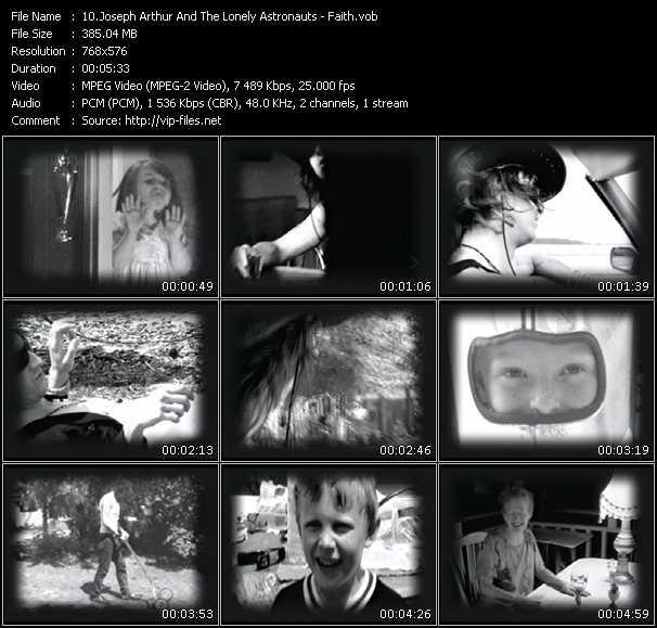 Joseph Arthur And The Lonely Astronauts video screenshot