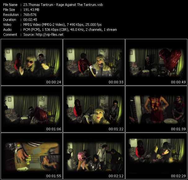 Thomas Tantrum video screenshot