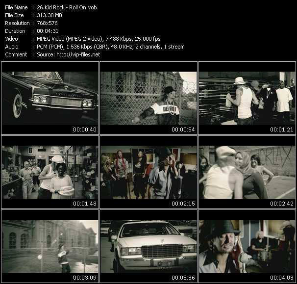 Kid Rock video screenshot