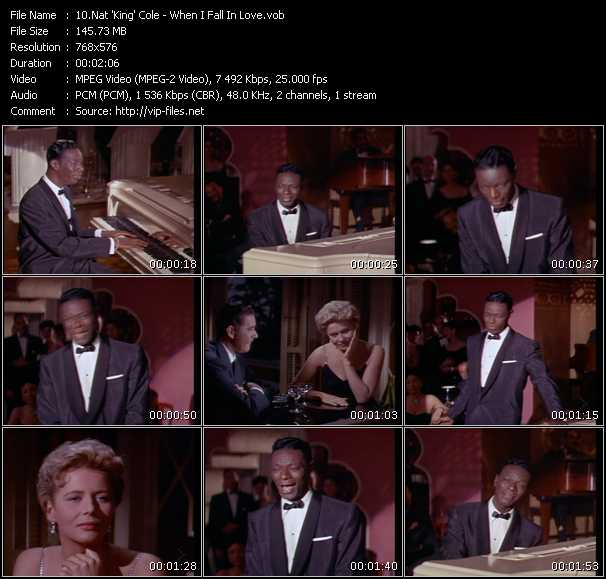 Nat King Cole video screenshot