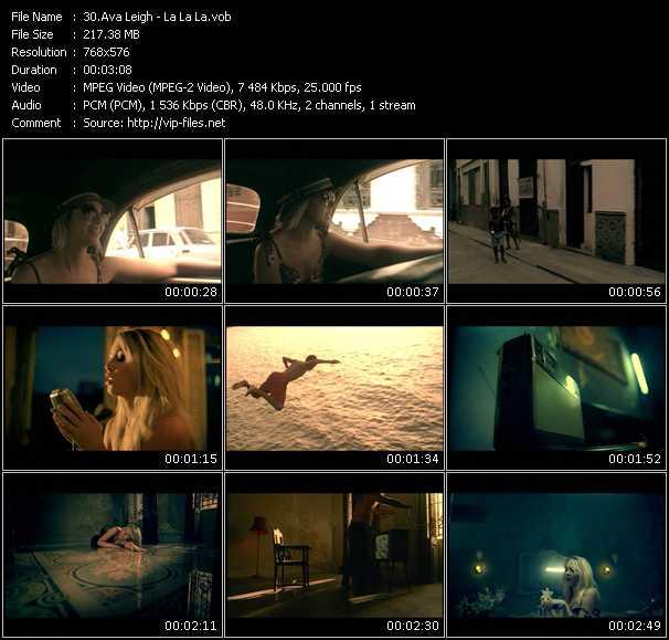 Ava Leigh video screenshot