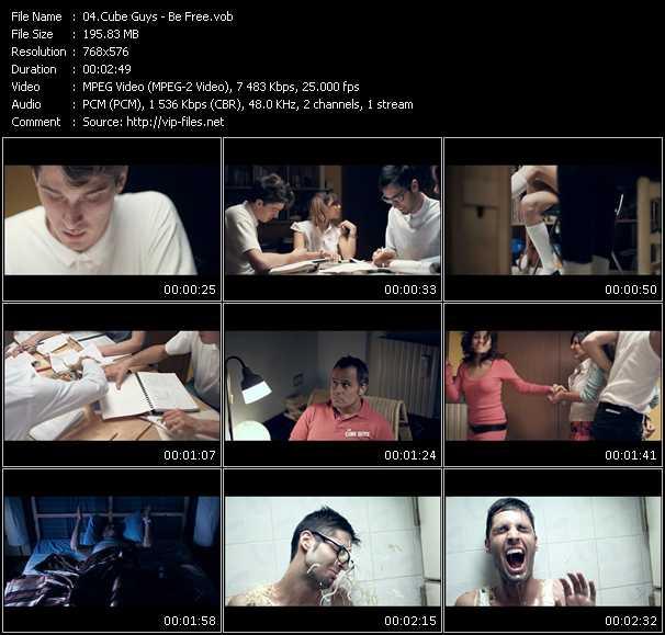 Cube Guys video screenshot