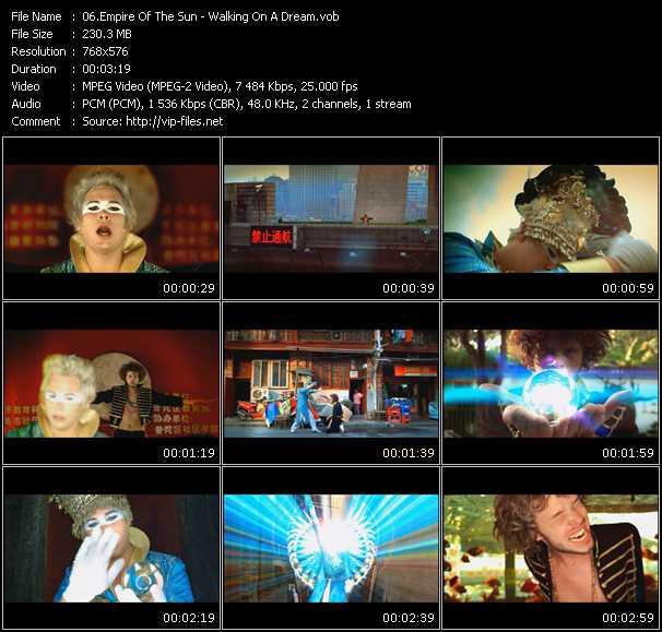 Empire Of The Sun video screenshot