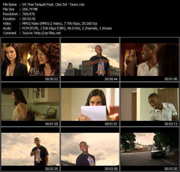 Tinie Tempah Feat. Cleo Sol video screenshot