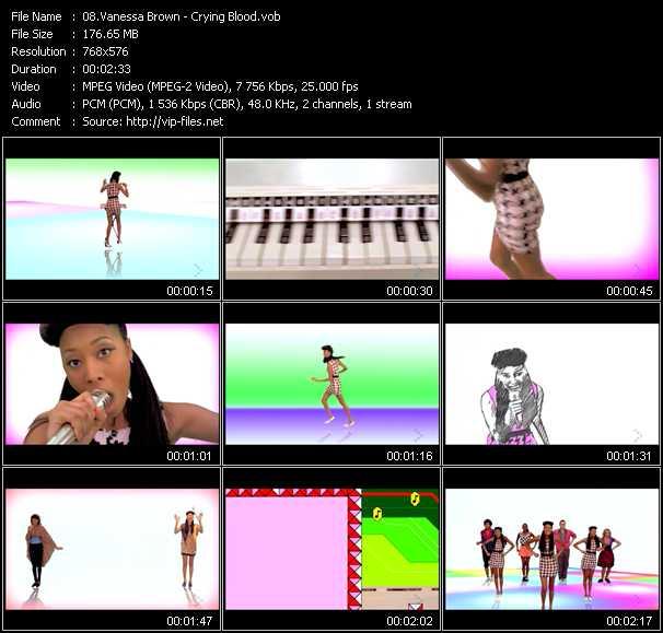 Vanessa Brown (VV Brown) video screenshot