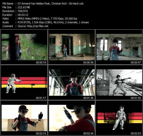 Armand Van Helden Feat. Christian Rich video screenshot