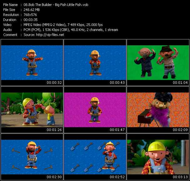 Bob The Builder video screenshot