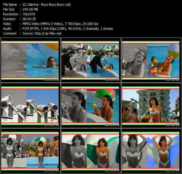 video Boys (Summertime Love) screen