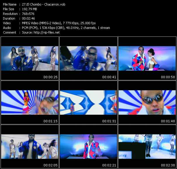 El Chombo video screenshot