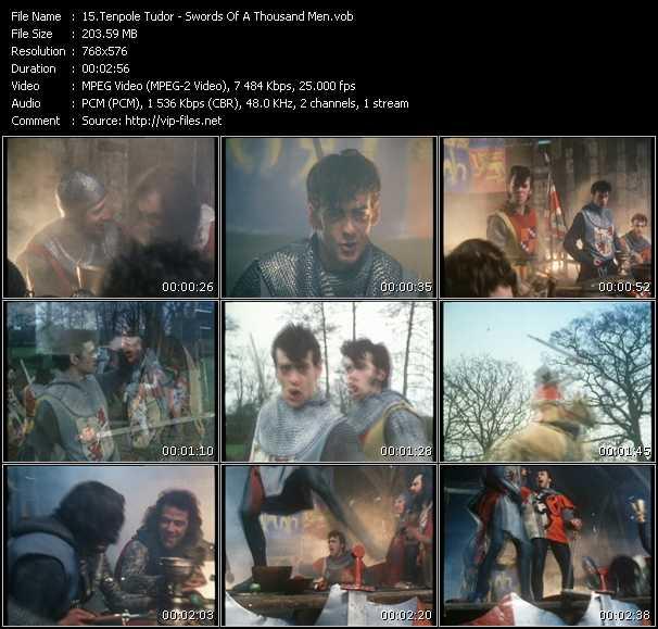 Tenpole Tudor video screenshot