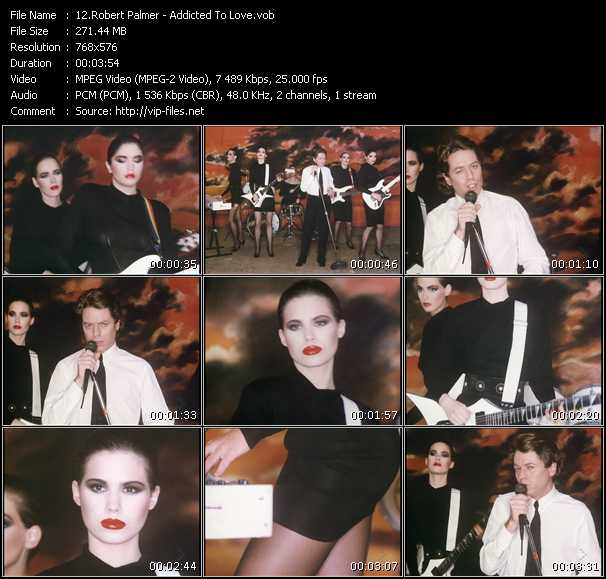 video Addicted To Love screen