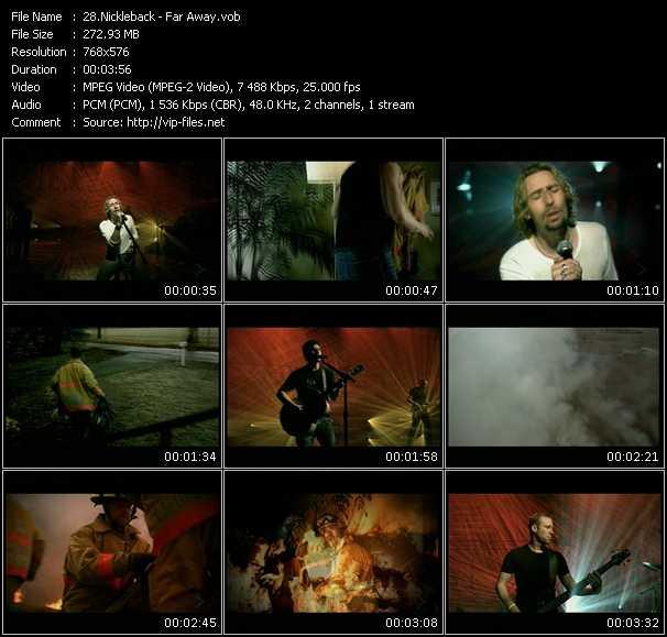 Nickleback video screenshot