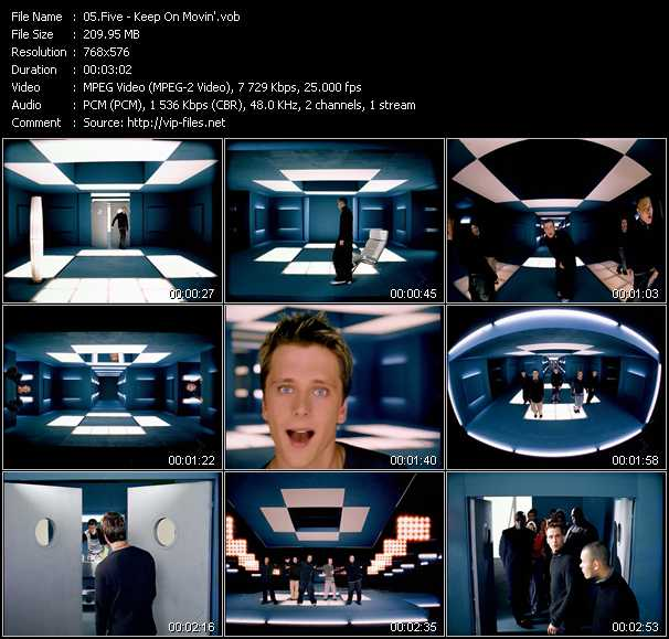 Five video screenshot