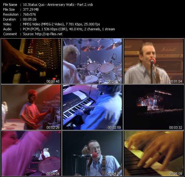 video Anniversary Waltz Part2 screen